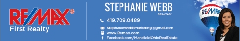 Stephanie Webb Remax First Realty Mansfield Ohio Real Estate